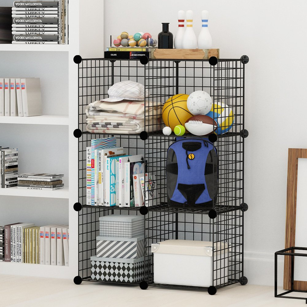 Amazon.com: KOUSI Wire Storage Cubes, Wire Grids Cube Closet ...