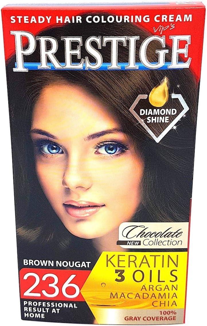Vips Prestige Tinte Permanente para cabello Color 236 Marrón Nougat