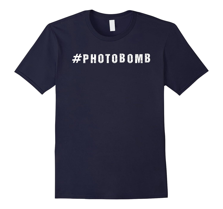 #Photobomb Funny Photobomber T Shirt-BN