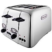 De'longhi Argento CTO4.C 4 Slice Toaster