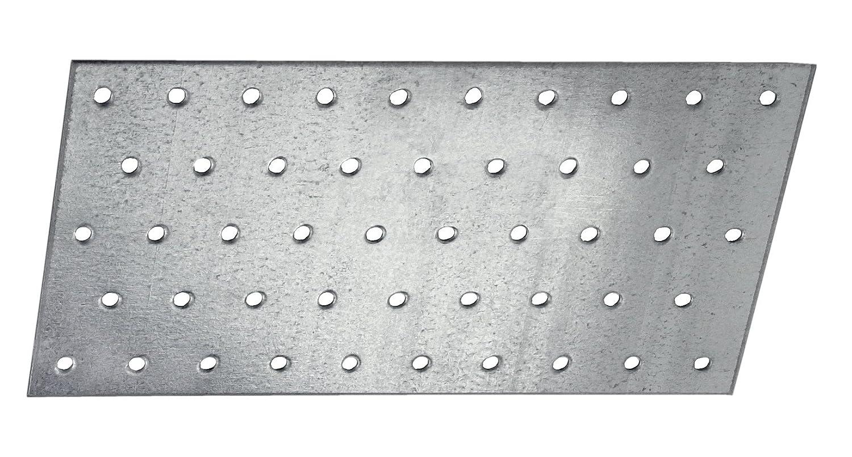 Connex Sparpack Lochplatten 60 x 140 x 2 mm verzinkt 25 St/ück HVG2030
