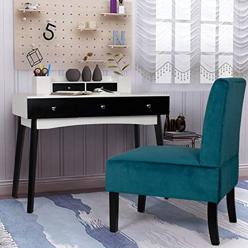 AILEEKISS Home Office Furniture Writing Desk Set Computer Work Desk