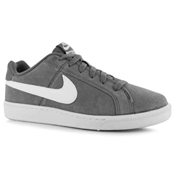 d3a93f4b7d0 Nike Court Royale Suede Trainers Mens Grey/White Casual Sneakers ...
