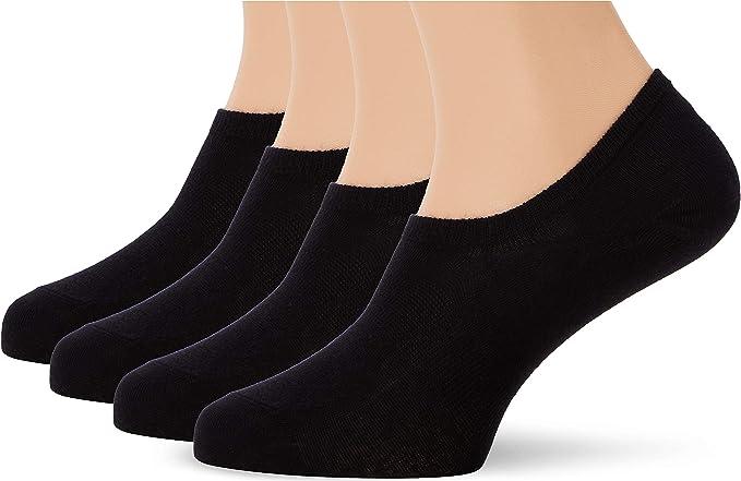 Marca Amazon - MERAKI Calcetines Invisibles de Algodón Hombre ...