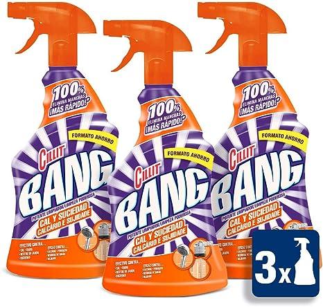 Cillit Bang Cal & Suciedad Limpiador Spray - Pack de 3 x 750 ml: Amazon.es: Salud y cuidado personal