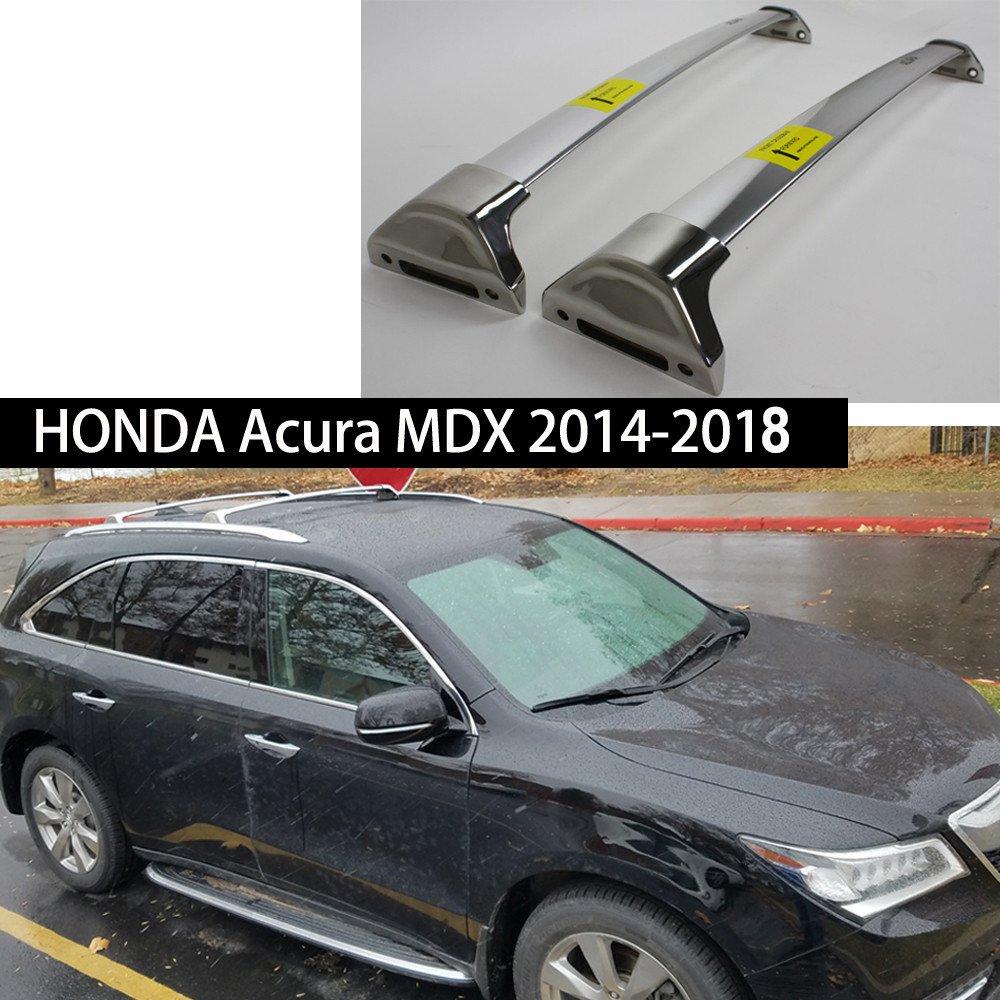 Fit for Honda Acura MDX 2014-2018 Metal Baggage Luggage Racks Roof Racks Rail Cross Bar Crossbar