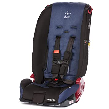 Diono Radian R100 5 Point Harness Convertible+Booster Car Seat ...