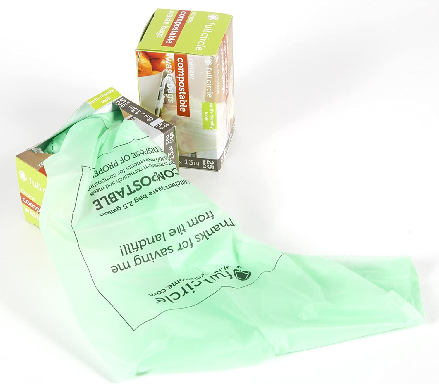 Full Circle FC11303 Compostable Waste Bags 25 Count