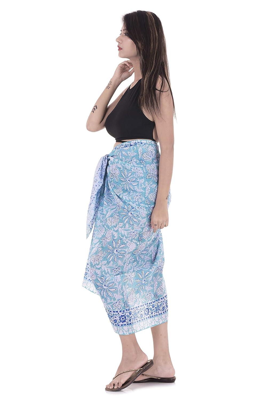 6e48f44d83939 Handicraft-Palace Floral Printed Cotton Beautiful Wrap Women s Sarong