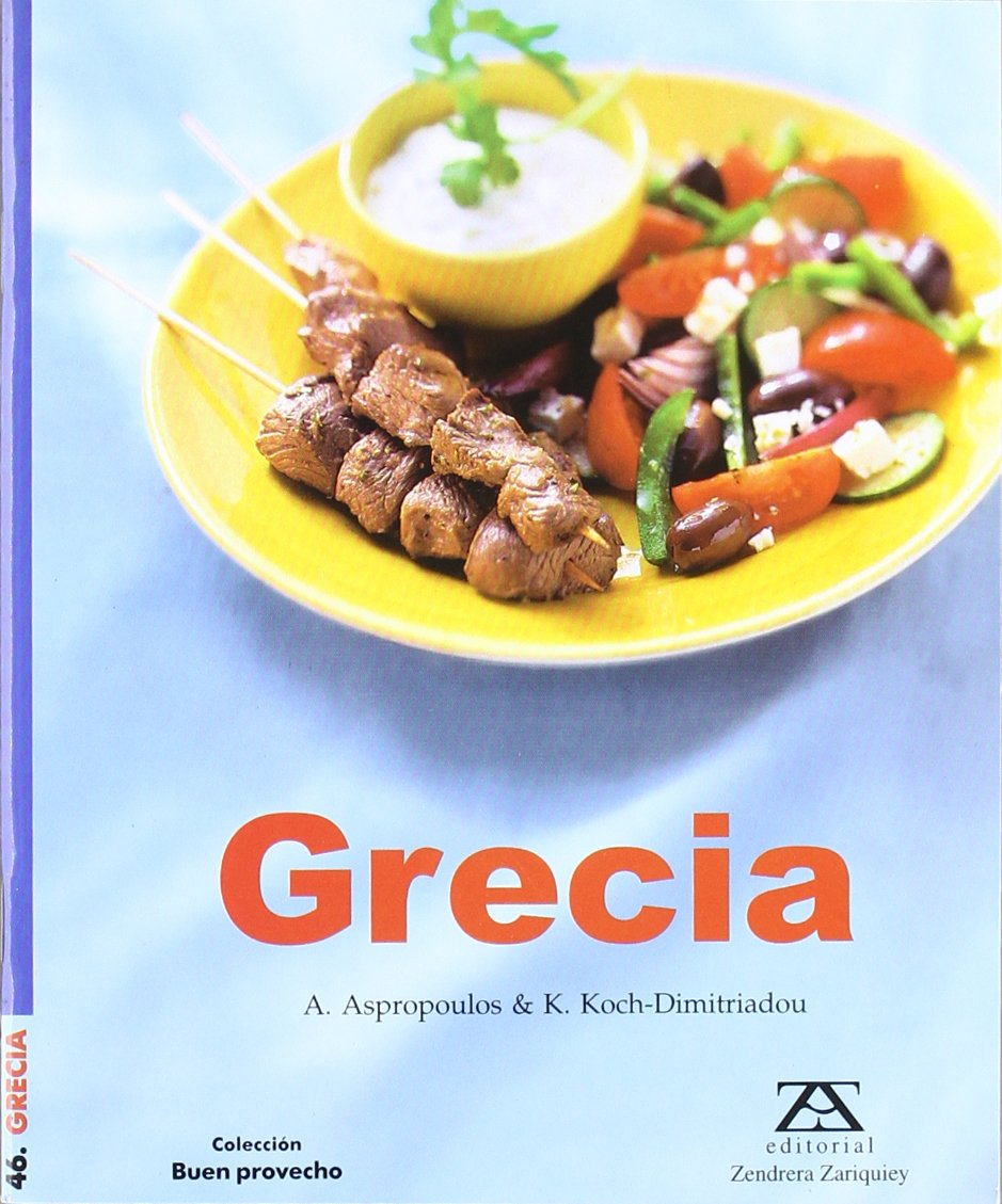 Grecia: A. Aspropoulos / K. Koch-Dimitriadou: 9788484180883: Amazon.com: Books