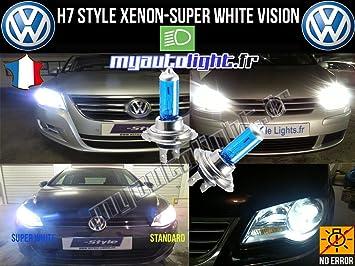 Bombillas H7 blanco xenón para coche