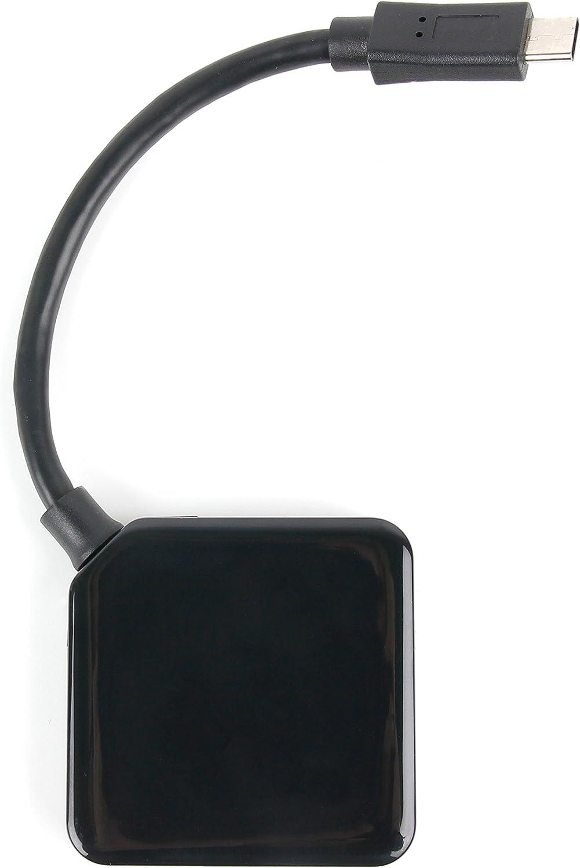 DURAGADGET Black USB 3.1 Type-C Hub - Compatible with The Acer Swift 3 | Acer Swift 3 SF314-51-50CX | Acer Swift 3 SF314-51-39NE | Acer Swift 3 SF314-51-503H