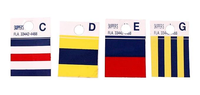 Sticker decal nautical car maritime flag letter international coded Z ZULU