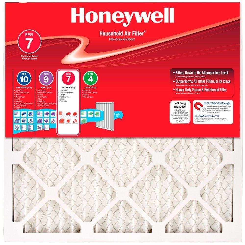 20 In. X 25 In. X 1 In. Allergen Plus Pleated Air Filter-Honeywell-90701.012025