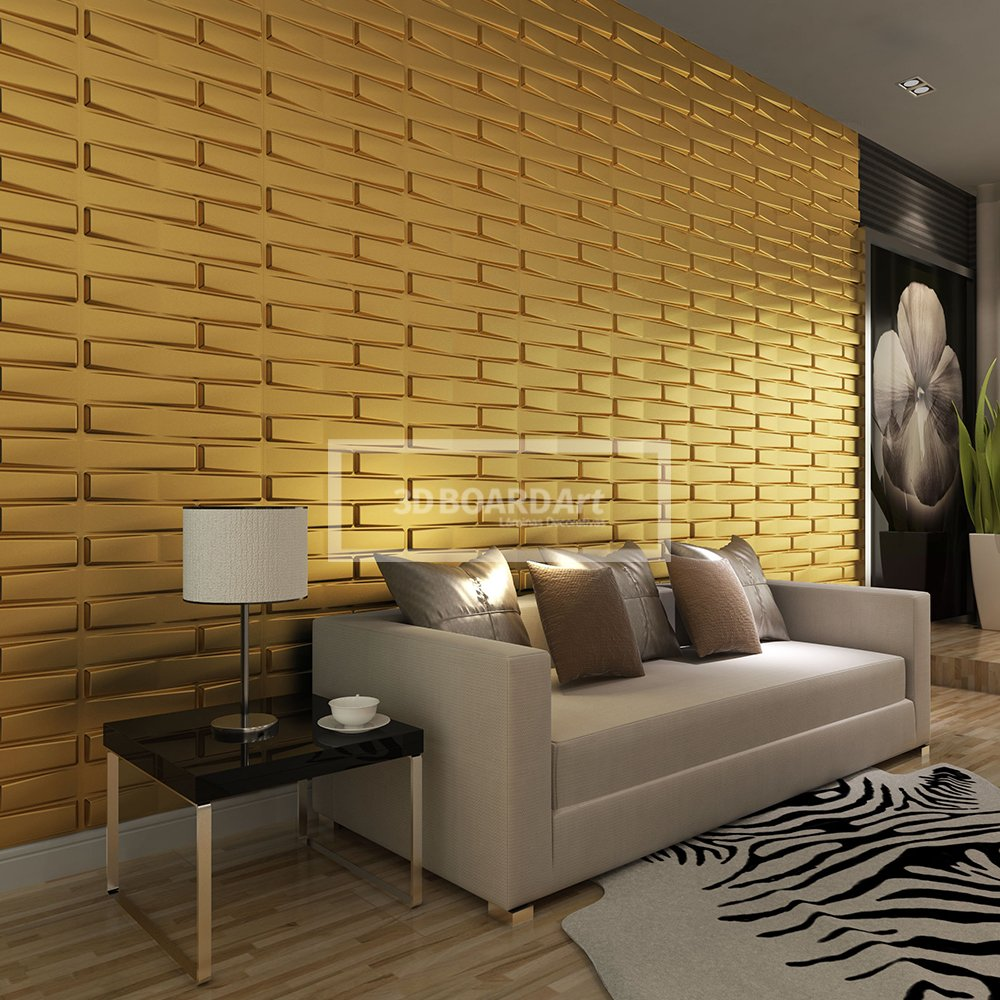 3D Board Art Decorative Wall Panels Pack of 32 Square Feet - White ...
