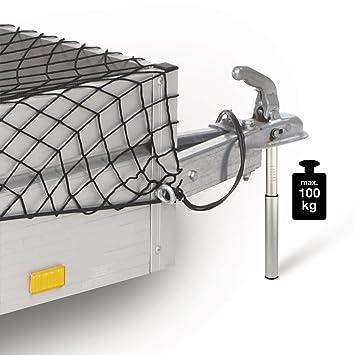 Unitec 10038 Apoyo Last Báscula, 100 kg, Aluminio