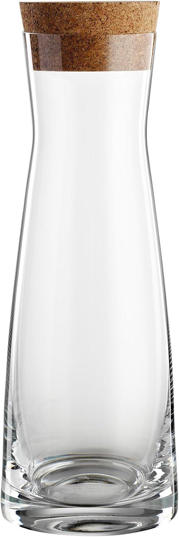 Bohemia Cristal 093006148Jarra La Bella 1000ml de Cristal con tapón de Corcho, Transparente