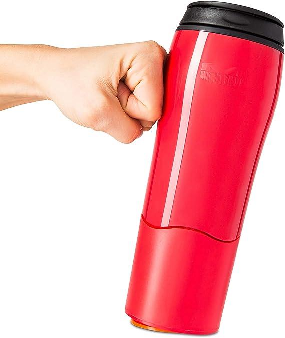 Mighty Mug Go alliage en acier inoxydable-Rosebud