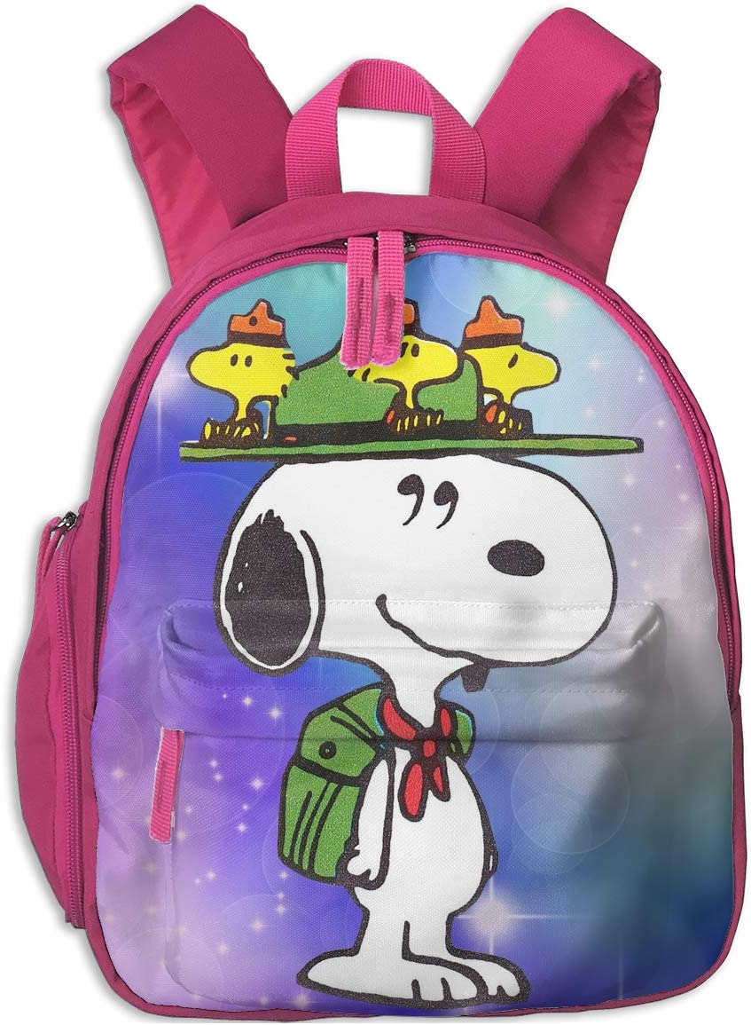 CCVVG1 Snoopy Print Backpacks for Toddler