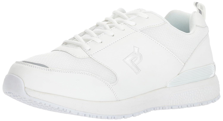 Propét Men's Simpson Work Shoe 11.5 5E US|White