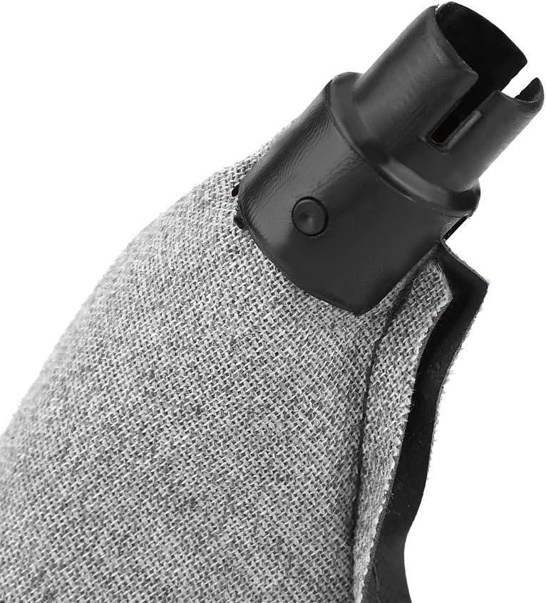 Cubierta a Prueba de Polvo de Duradero de Piel Sint/ética Perilla de Cambio para para E36 E34 E28 E24 1998-2005