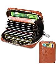 a0c880191 Tarjetero para Tarjetas de Crédito para Hombre Mujer RFID Titular de la  Tarjeta de Crédito de