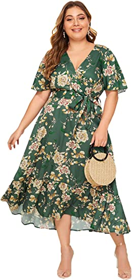 green medium long plus size dress amazon beautiful dresses