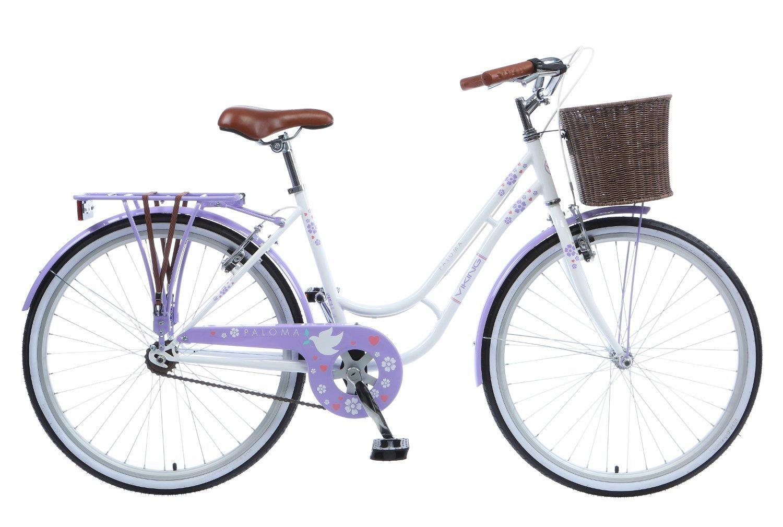 Viking Women's Paloma Bike, White/Lilac, Medium