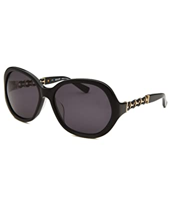 d59434ce8f Amazon.com  Bally Sunglasses BY2004A Black-Grey Size 60MM  Clothing