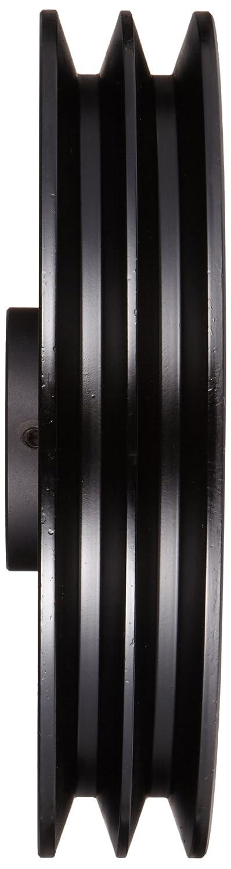 4L//5L or B Belt Section 2.5 OD 5//8 Bore 1.9 Datum//2.3 Datum Class 30 Gray Cast Iron Martin 2BK25 5//8 FHP Sheave BS 9924 max rpm 2 Grooves