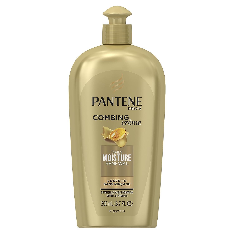 Pantene Daily Moisture Renewal Moisturizing Combing Cream, 6.7 fl oz Procter & Gamble Haba Hub 10080878183736