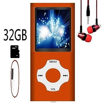 Reproductor MP3/MP4, Reproductor de música MP3 Hotechs con ...