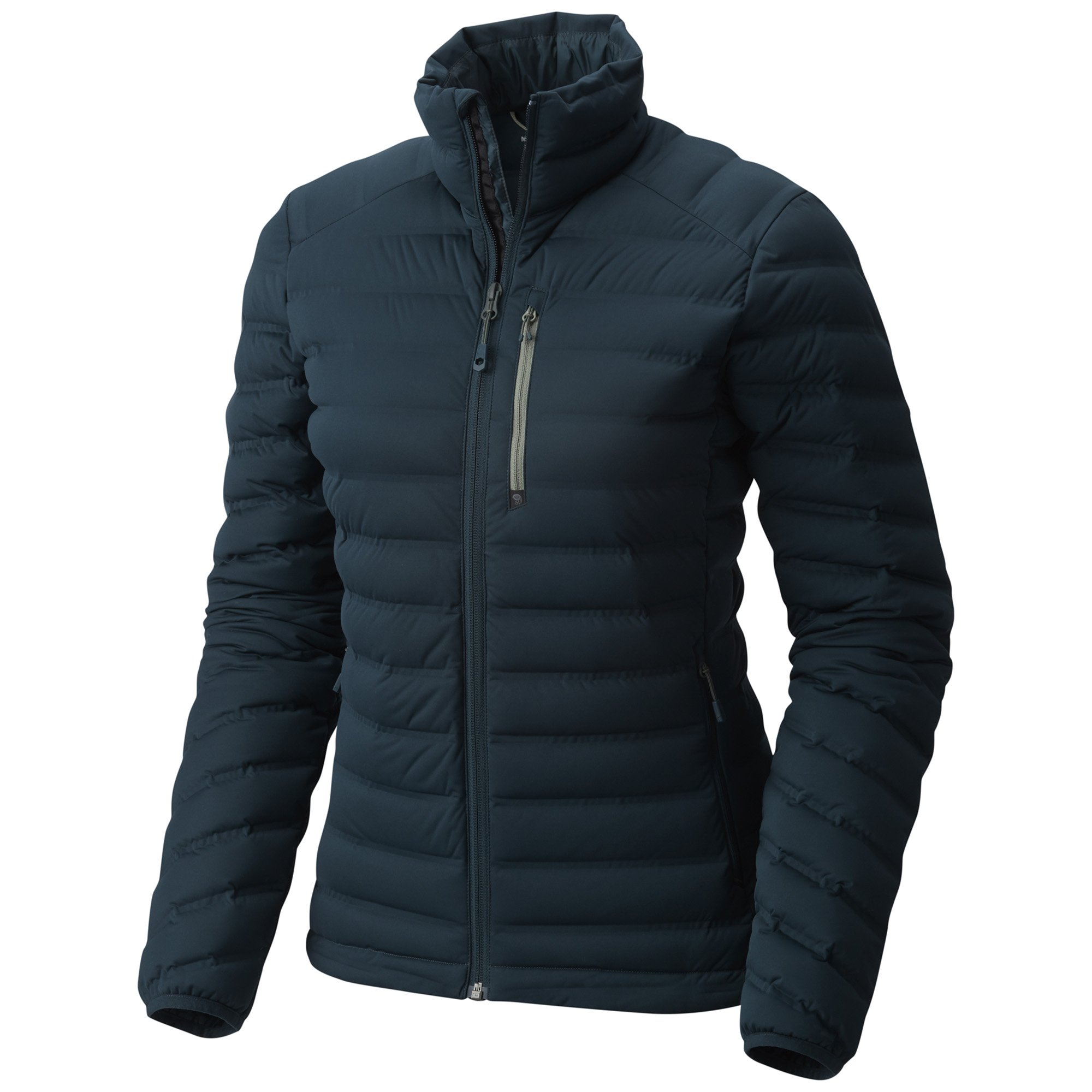 Mountain Hardwear Women's StretchDown Jacket, Blue Spruce, M