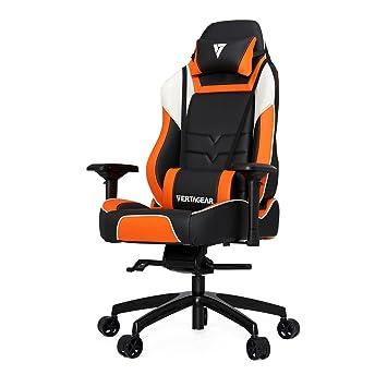 Vertagear Silla de Gaming VG-PL6000 Naranja Negro X-Large: Amazon.es: Hogar