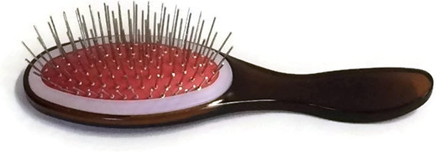 Pink WIRE BRISTLED HAIR BRUSH HAIRBRUSH works for American Girl Dolls /& Others!