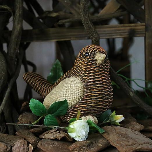 JYSPT Adornos de jardín de resina estatua de árbol de Vino Artesanía de punto Animal Figuras para Hogar Yard Jardín Decoración: Amazon.es: Jardín