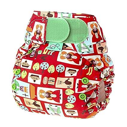 Tots Bots Easy Fit Sixpence - Cobertor de pañal elástico (talla de 3,5