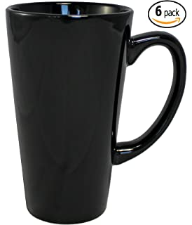 Amazon.com | Omniware 1010887 Tall Easy Grip Mugs, Set of 4, 18 oz ...