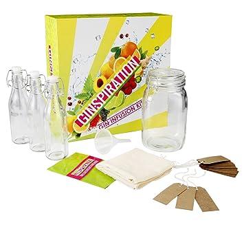 Homemade infusion kits diy vodka or gin kit boxed gift set homemade infusion kits diy vodka or gin kit boxed gift set includes app with solutioingenieria Gallery