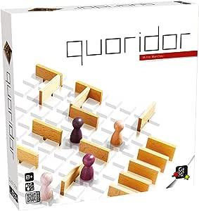 Gigamic 5203 QUORICLA - Juego de mesa Quoridor: Amazon.es: Juguetes y juegos