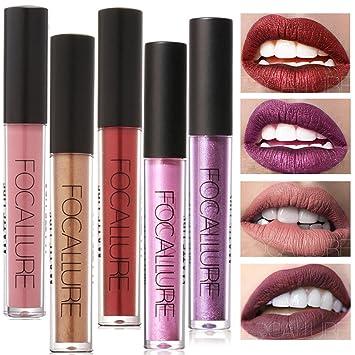Amazoncom Sherui 22 Colors Focallure Matte Lip Matte Lipgloss Set