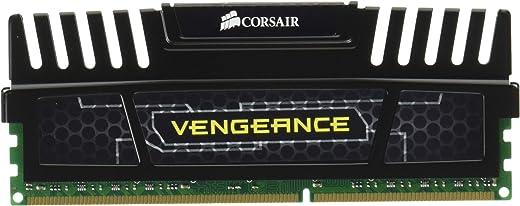 ذاكرة فينجيانس بسعة 16 جيجابايت (2×8 جيجابايت) من كورسير، ذاكرة دي دي ار 3 بسرعة 1600 ميجاهرتز (بي سي 3 12800)، ذاكرة كمبيوتر مكتبي