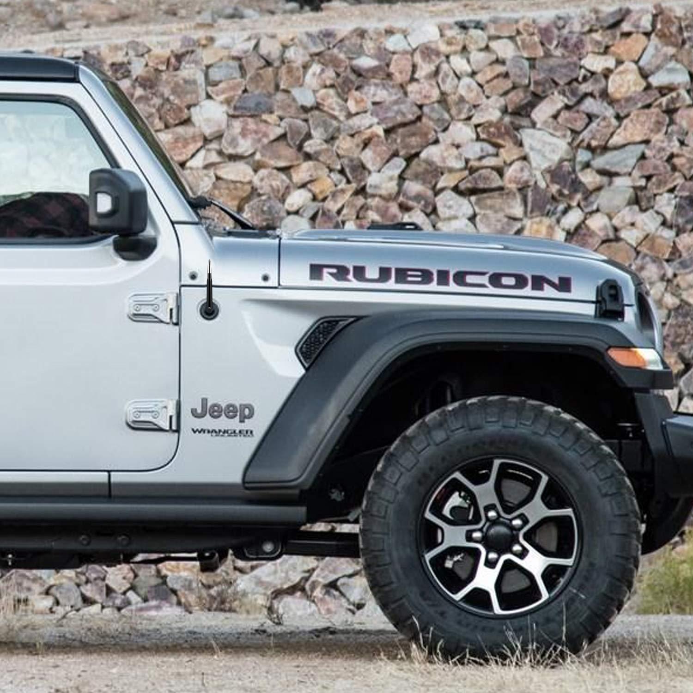 Bullet Style Antenna for Jeep Wrangler All Models Black 2020 Cherokee 2014-2020 2007-2020 2007-2020 JT and more - Will fit Any Jeep Wrangler JK JKU JL JLU Rubicon Sahara Gladiator
