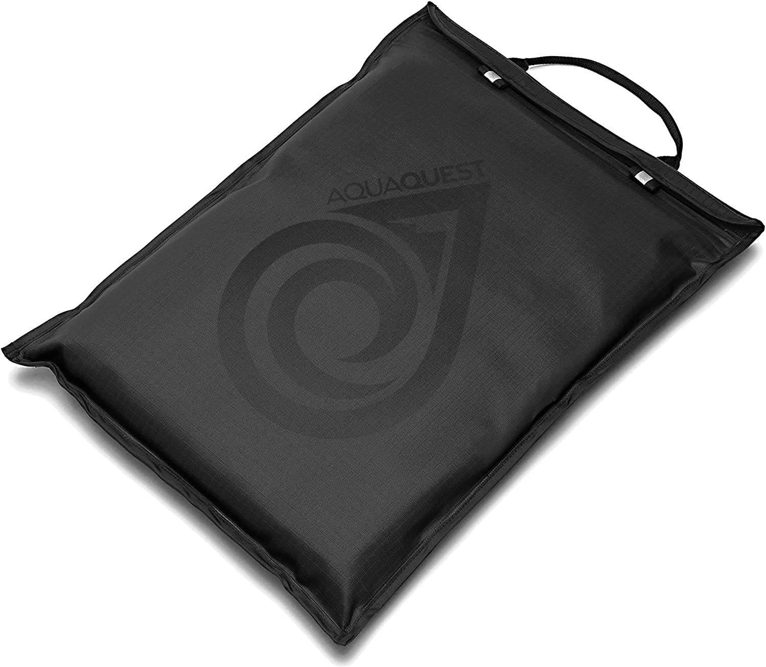 "Aqua Quest Storm Laptop Sleeve - 100% Waterproof, Lightweight, Durable, Padded Case - Protective Computer Pouch Cover Bag - 17"" Black"
