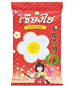 Amazon.com: NEW Sanghai Shanghai Candy Plum Flavour Thai