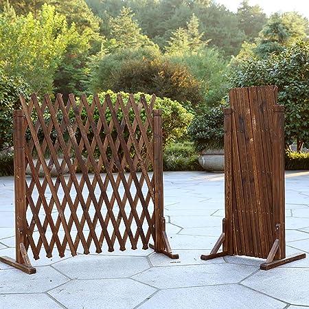 JF-HYWL Valla de Madera Valla de Jardín Decorativa Telescópica Planta Trepadora Ayuda Trellis Pet Nursery Fence. (Tamaño : 90cm/35.4in): Amazon.es: Hogar