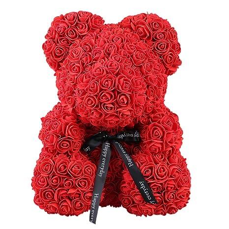 Bath & Shower Rose Bear Toys Women Girls Flower Birthday Party Valentine Wedding Romantic Doll Gifts 2019 New Valentines Day Present