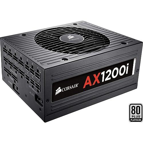 Corsair AX1200i Fuente de Alimentación Completamente Modular 80 Plus Platinum 1200 Watt Digital EU
