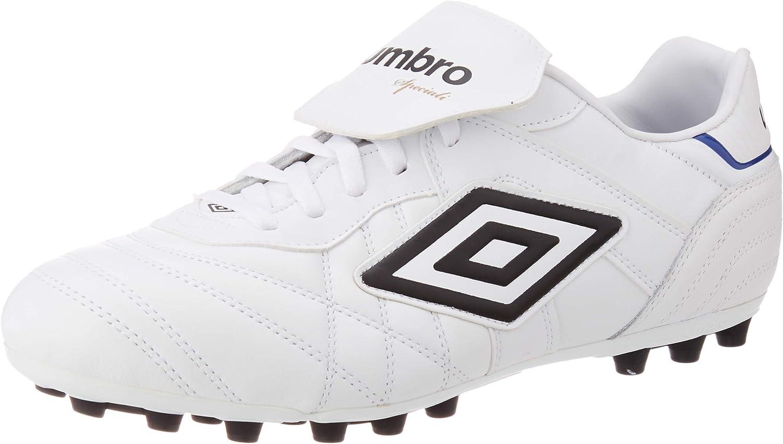 Umbro Speciali Eternal Premier AG, Bota de fútbol, White-Black