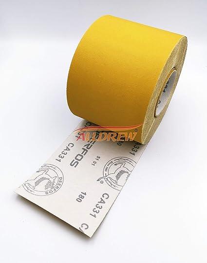 Creative-Idea 42/x Carta di Vetro Impermeabile Secco abrasivo per Carta abrasivo grinde Sander levigatura Automobile di FINISSAGE Mobili e tornio